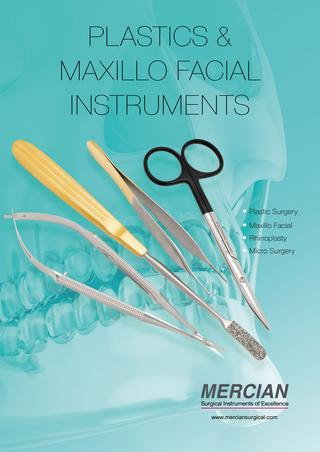 Mercian Plastic Surgery Instruments brochure