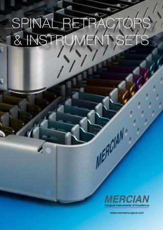Mercian Spinal Retractors & Instrument Sets